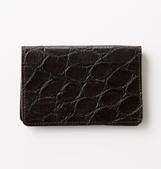 MAT CROCODILE CARD CASE
