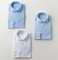 WIDE COLLAR 170/2 COTTON ROYAL OXFORD SHIRTS