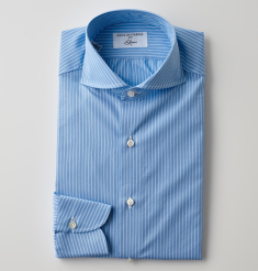 POPLIN STRIPE SHIRTS