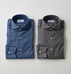 GINGHAM CHECK SHIRTSLONDON STRIPE SHIRTS