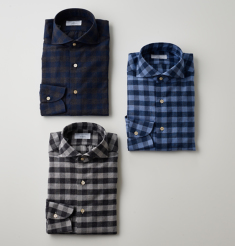 BLOCK CHECK SHIRTS