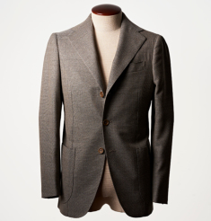 WOOL HOP SACK 3B JACKET