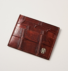CROCODILE CARD CASE
