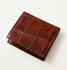 CROCODILE COMPACT WALLET