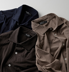SMOOTH COTTON SHIRTS