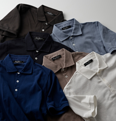 COTTON PIQUE POLO SHIRTS