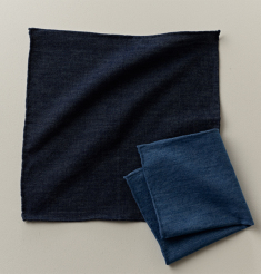 DENIM POCKET CHIEF